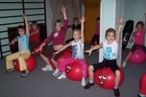 Dětský aerobic pro začátečníky